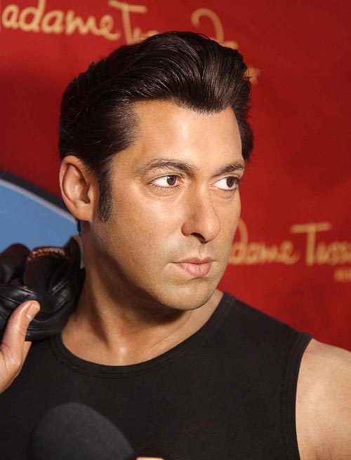 Salman Khan's wax statue at Madame Tussauds New York