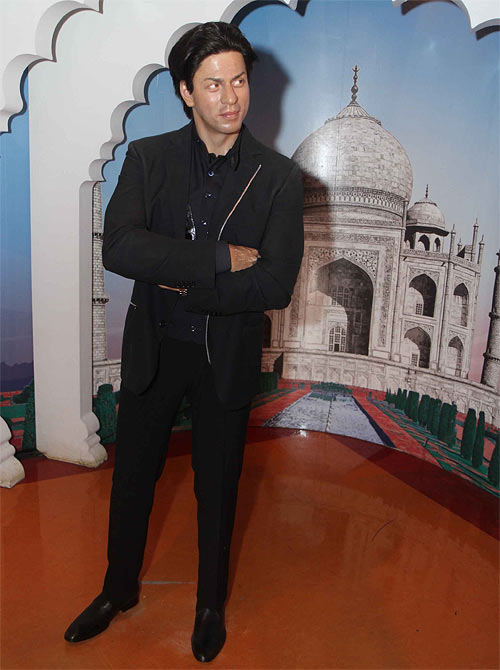 Shah Rukh Khan's wax statue at Madame Tussauds New York