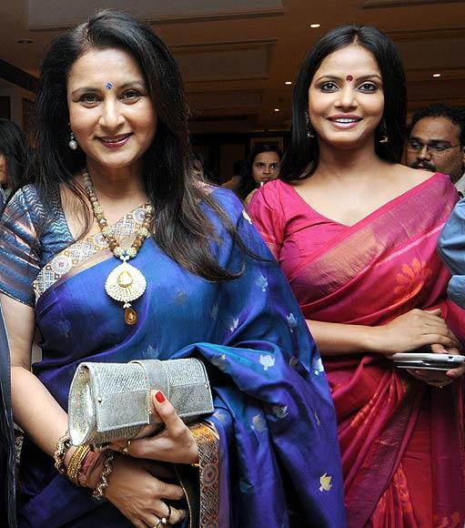 Poonam Dhillon and Neetu Chandra