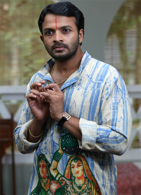 Jayasurya plays an effeminate guy