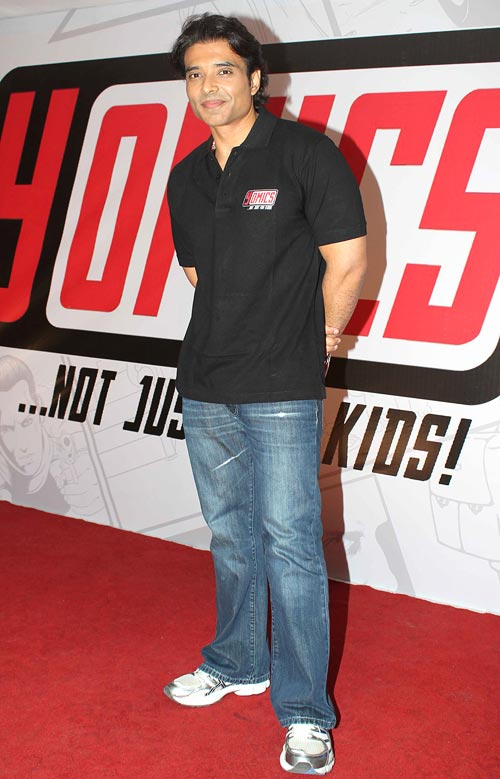 Uday Chopra at Dhoom comic book launch