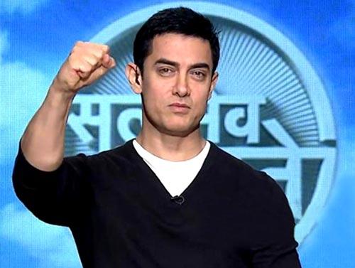 Aamir Khan in Satyamev Jayate.