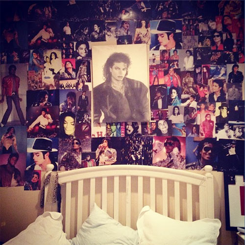 The Michael Jackson collage