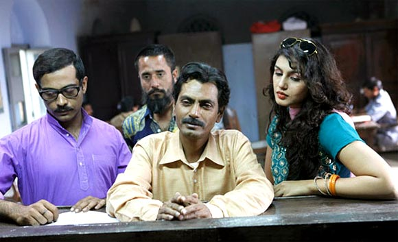 A scene from Gangs of Wasseypur II