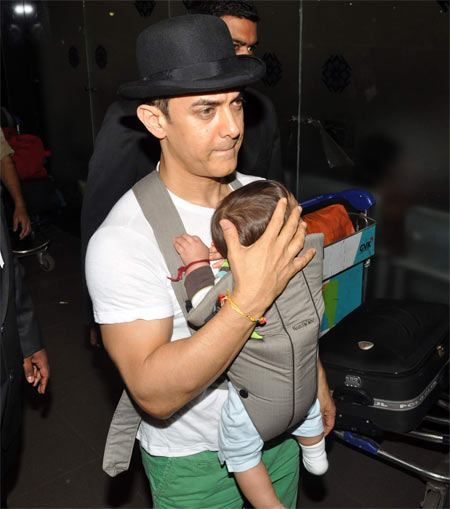 Aamir Khan and Azad Rao Khan