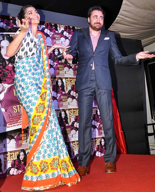 Sonam Kapoor and Imran Khan
