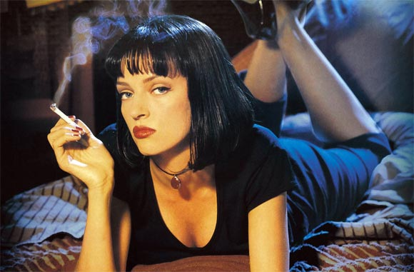 A scene from Pulp Fiction
