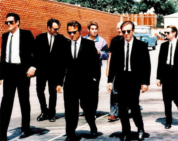 A scene from Reservoir Dogs