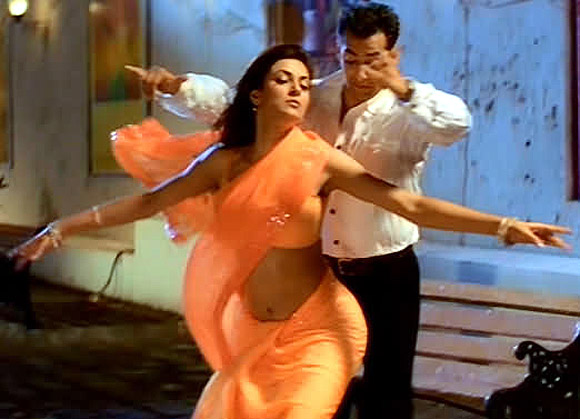 Sushmita Sen and Salman Khan in Maine Pyar Kyun Kiya
