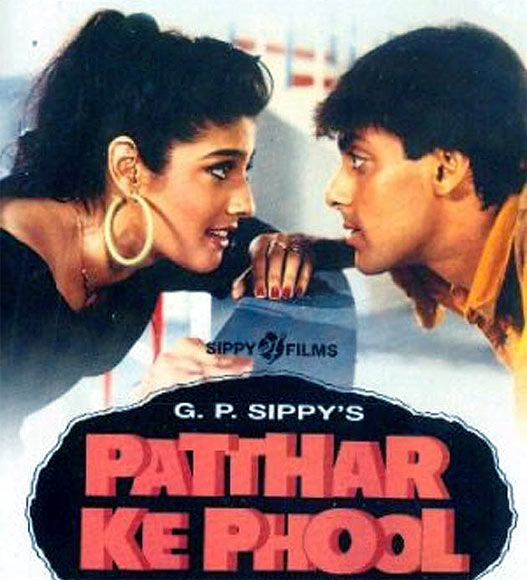 Movie poster of Patthar Ke Phool