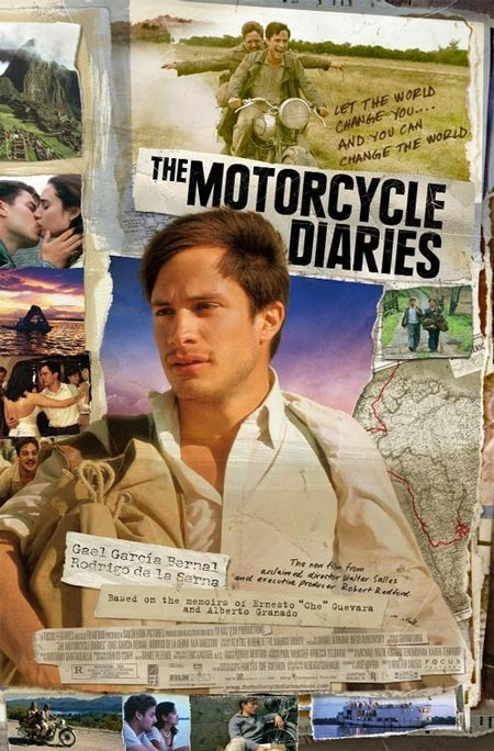 Movie poster of The Motorcycle Diaries