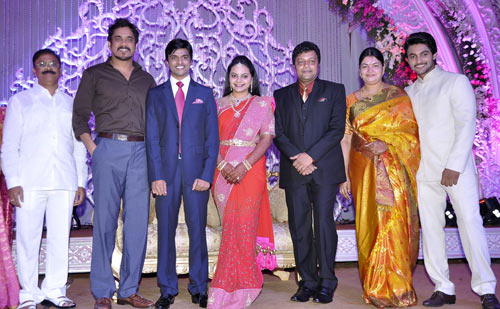 Nagarjuna along with Sai Kumar's family