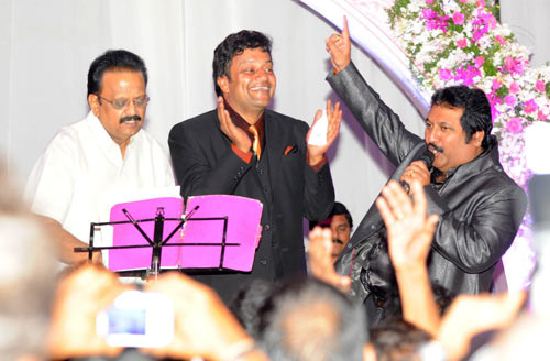 SP Balasubramaniyam, Sai Kumar and Mano