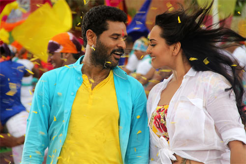 Prabhu Deva and Sonakshi Sinha