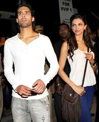 Sidhartha Mallya and Deepika Padukone