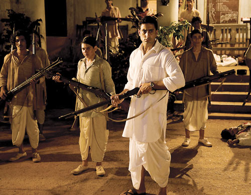 A scene from Khele Hum Jee Jaan Se