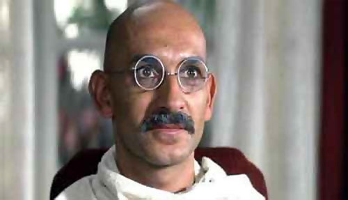 A scene from Gandhi