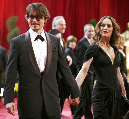 Johnny Depp and Vanesa Paradis