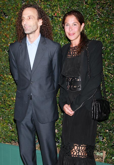 Kenny G and Lyndie Benson-Gorelick