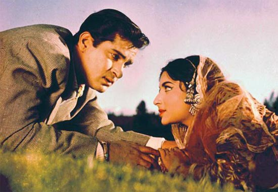 Shammi Kapoor and Sharmila Tagore in Kashmir Ki Kali