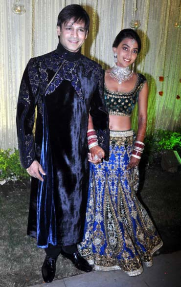 Vivek Oberoi and wife Priyanka