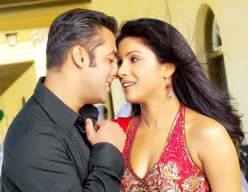 Salman Khan and Priyanka Chopra in God Tussi Great Ho