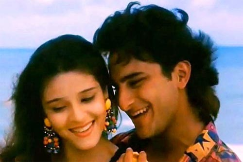 Rajeshwari and Saif Ali Khan in Parampara