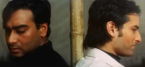 Ajay Devgn and Saif Ali Khan in Kachche Dhaage