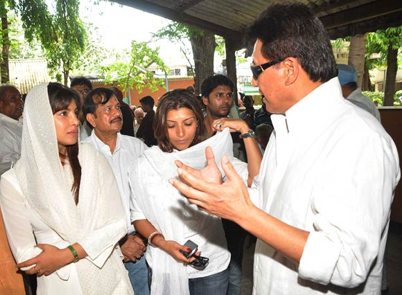 Priyanka Chopra and Danny Denzongpa