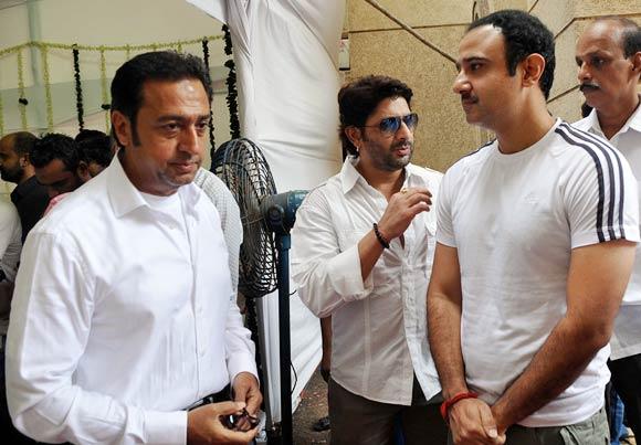 Gulshan Grover, Arshad Warsi and Vivek Mushran