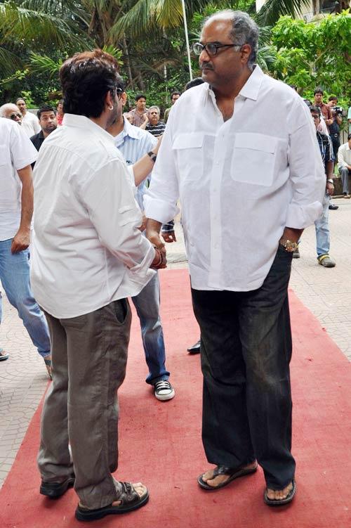 Arshad Warsi and Boney Kapoor