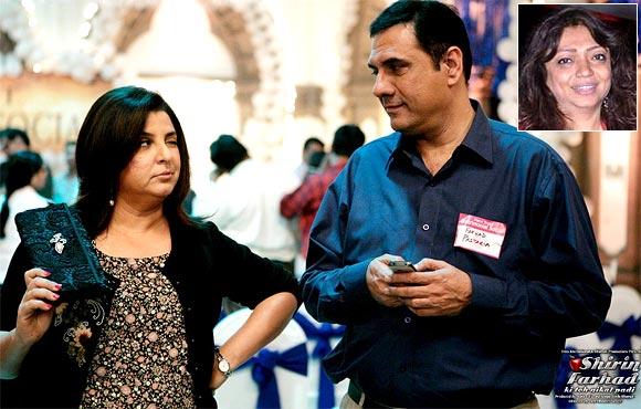 A scene from Shirin Farhad Ki Toh Nikal Padi. Inset: Bela Sehgal