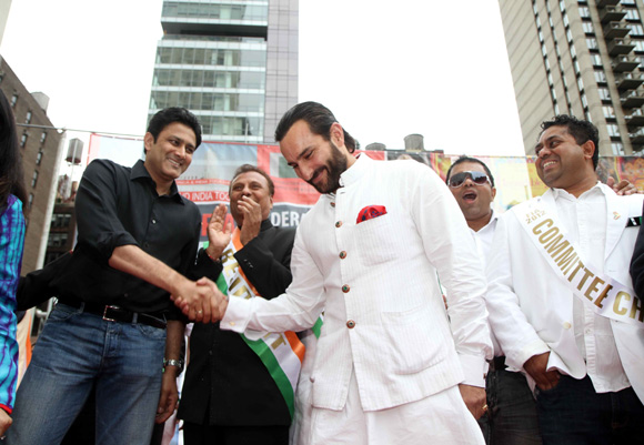Saif Ali Khan, Anil Kumble