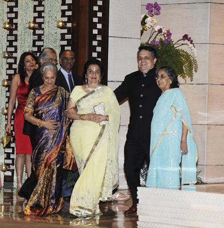 Waheeda Rehman, Asha Parekh and Shammi