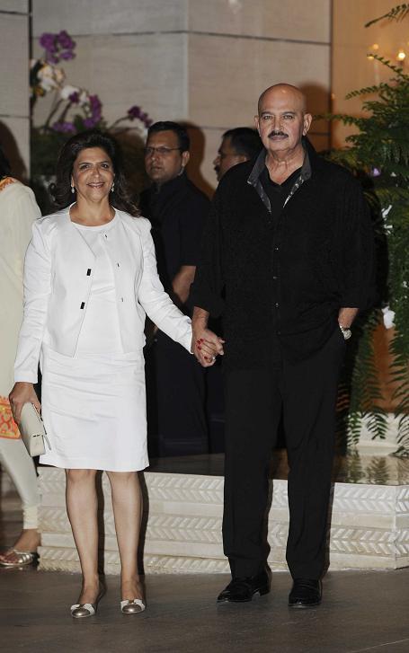 Rakesh and Pinky Roshan