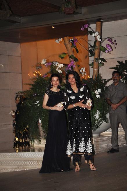 Namrata and Priya Dutt