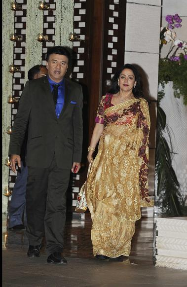 Anu Mallik and Hema Malini
