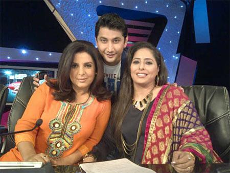 Farah Khan, Master Marzi and Geeta Kapur