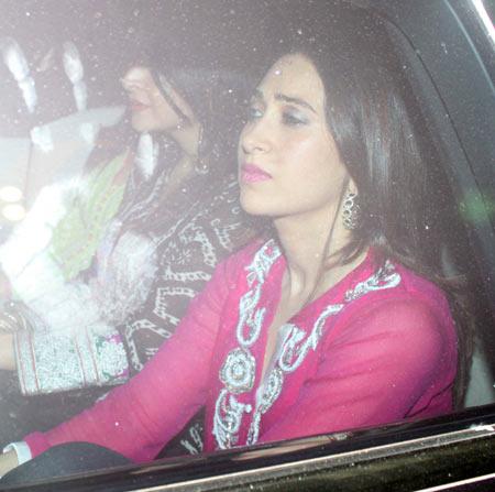 Karisma Kapoor and Maheep Kapoor