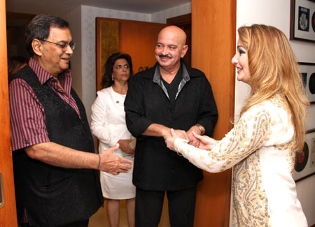 Subhash Ghai, Pinky Roshan, Rakesh Roshan and Roya