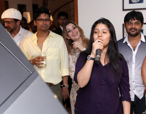 Javed Jaffrey, Shaan, Roya and Sunidhi Chauhan
