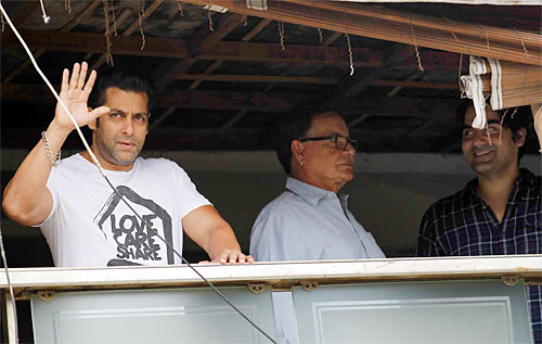 Salman, Salim and Arbaaz Khan