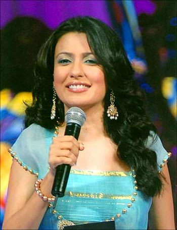 Mini Mathur in Indian Idol