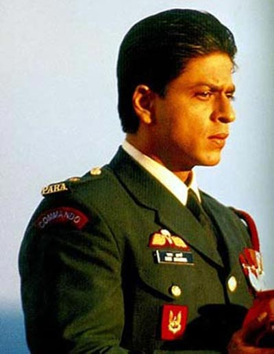 Shah Rukh Khan in Main Hoon Na
