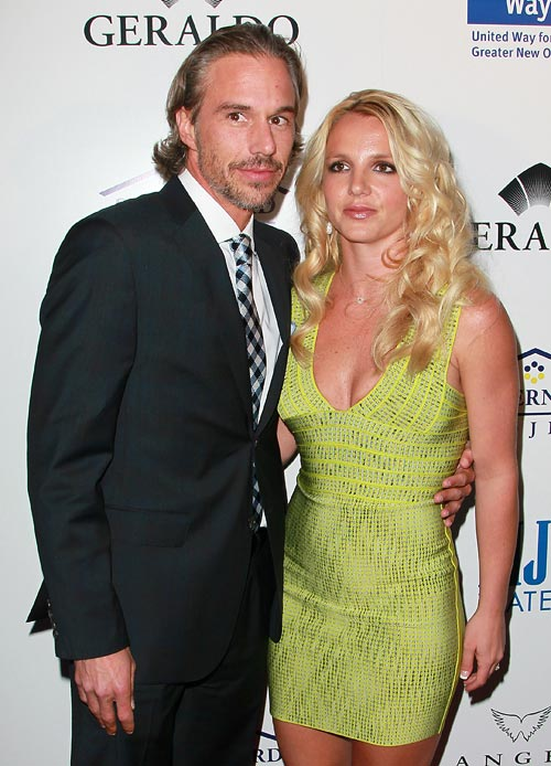 Jason Trewick and Britney Spears