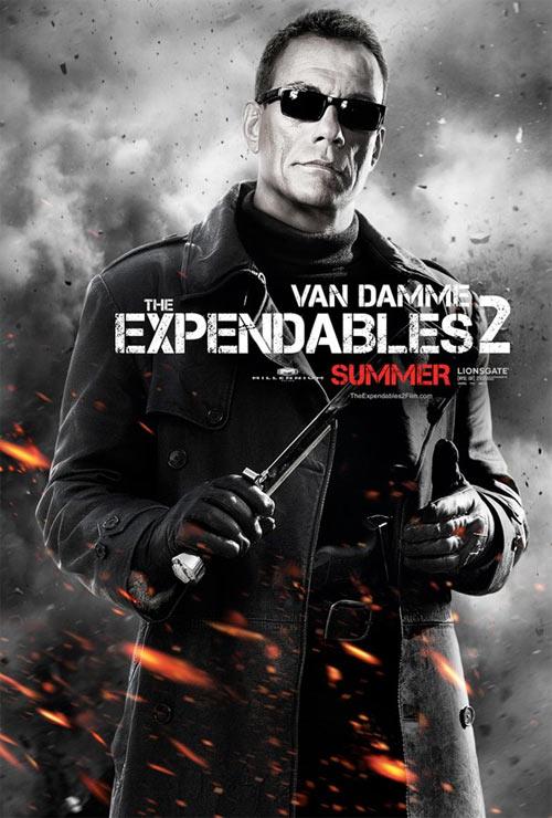 Jean Claude Van Damme in Expendables 2
