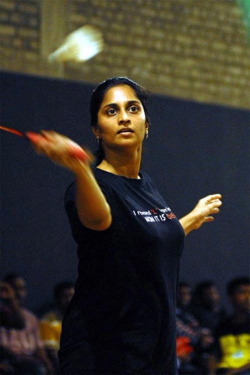 Shalini becomes badminton champion - Rediff com Movies