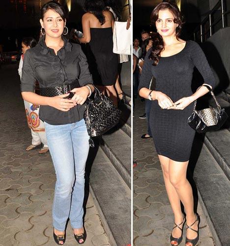 Preeti Jhangiani and Monica Bedi