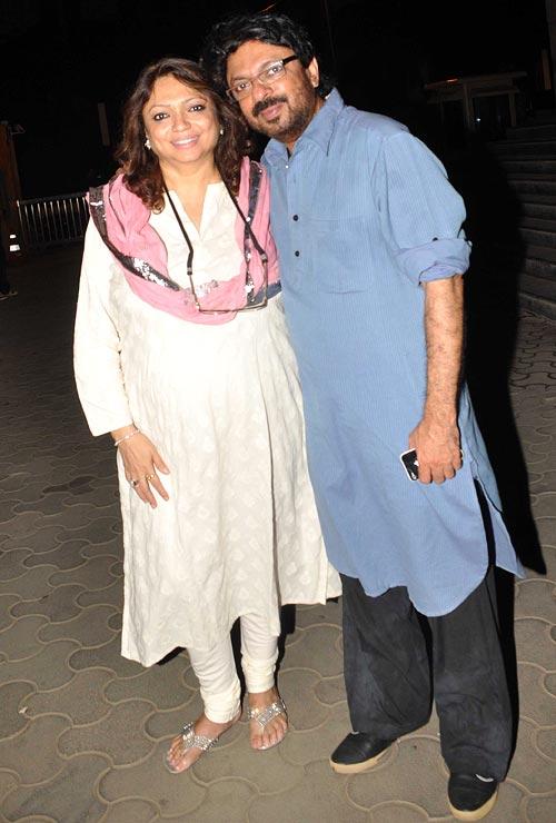 Bela Sehgal and Sanjay Leela Bhansali