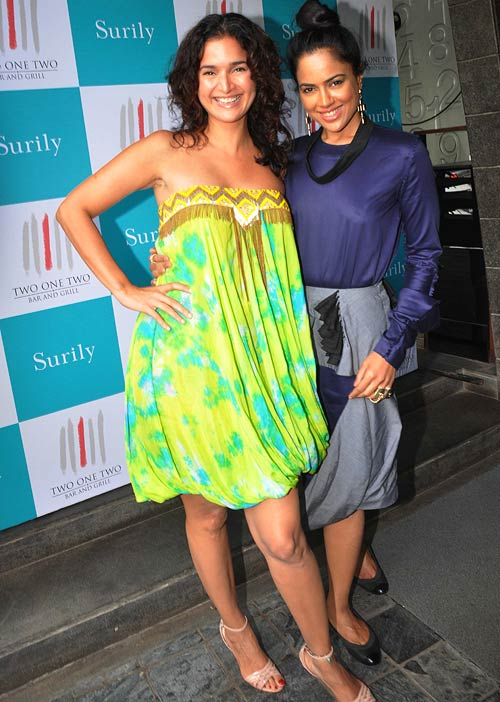 Sushma and Sameera Reddy